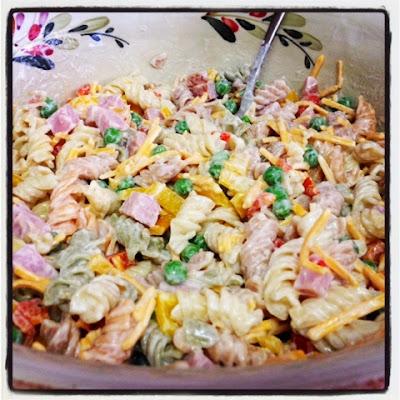 recipe: ruby tuesday ham and pea pasta salad recipe [11]