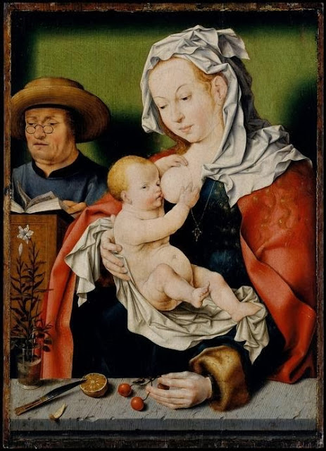 Joos van Cleve - The Holy Family.