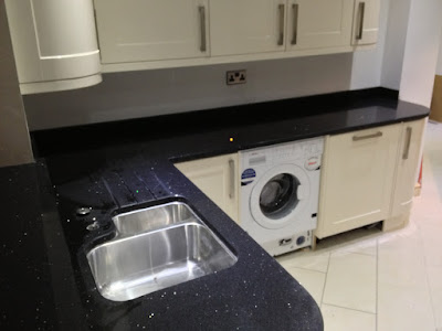 Stellar night quartz worktop in prenton wirral for Stellar night quartz price