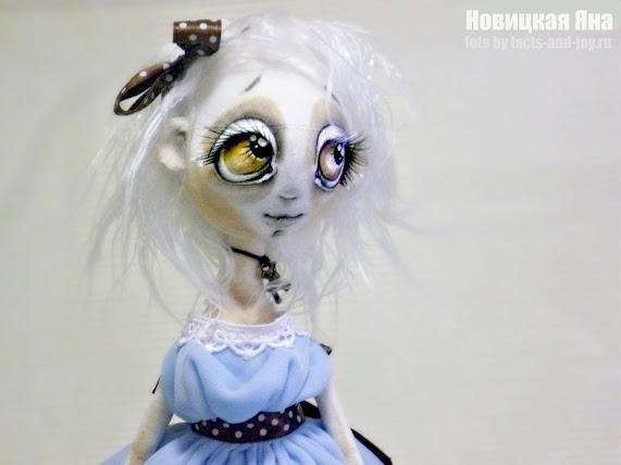 Новицкая Яна, выставка авторских кукол ателье чудес