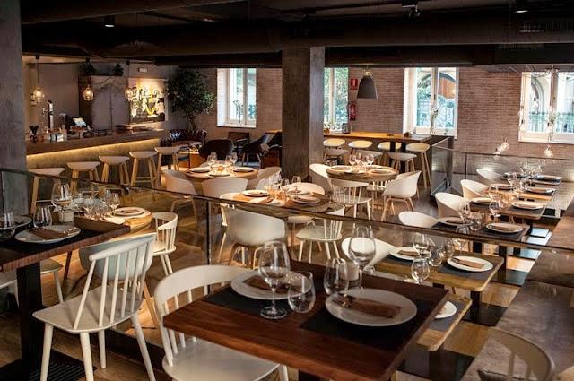 Revisi n interior restaurante sexto madrid for Go mobiliario contemporaneo