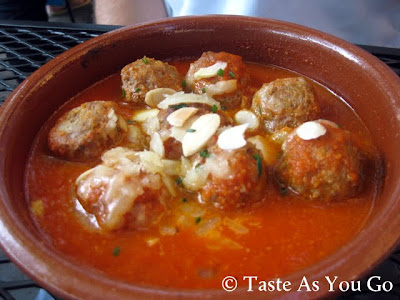 Albondigas de Cordero at Tapas on Main in Bethlehem, PA - Photo by Taste As You Go