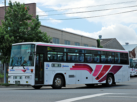 西日本鉄道「とよのくに号」 4017
