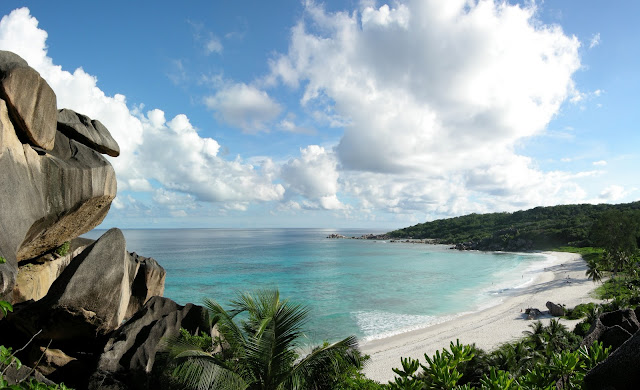 Playa de Grand Anse en La Digue