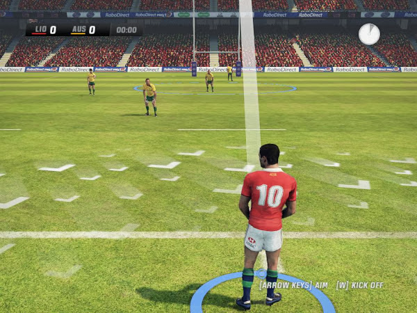 Screen Shot Of Rugby Challenge 2 (2013) Full PC Game Free Download at alldownloads4u.com