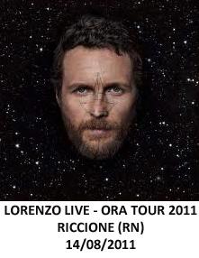 Concerto Jovanotti Riccione 2011 Ora Tour