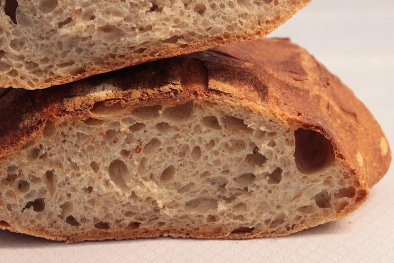 Tartine bread - Detalle miga