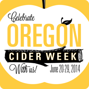 oregon cider week in 2014