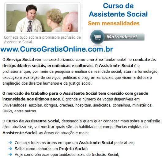 Curso de Assistente Social