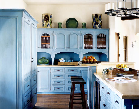 Colorful House Beautiful Kitchens