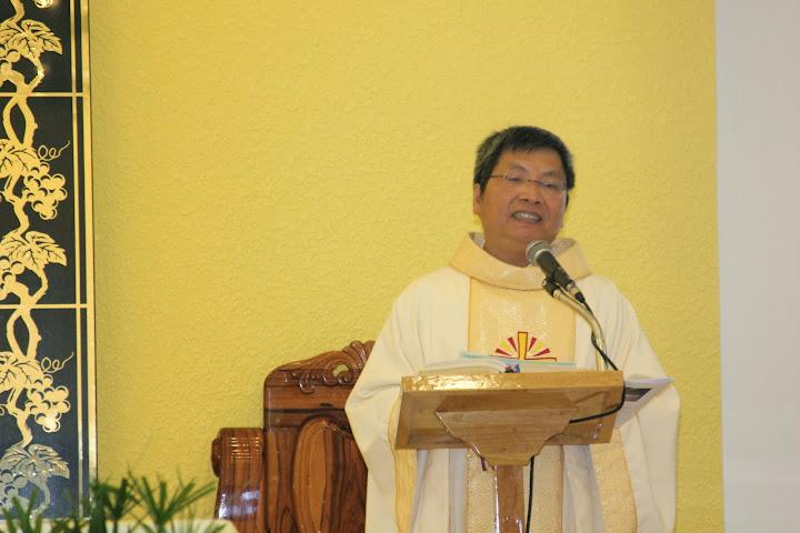 Thánh lễ tạ ơn 25 năm linh mục của cha Phaolô Ngô Đình Sĩ tại Tòa Giám Mục Nha Trang