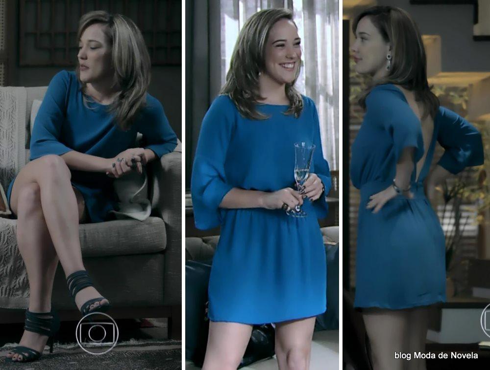 moda da novela Império, look da Amanda dia 7 de outubro