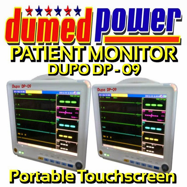 Patient Monitor Portable TouchScreen merek DUPO DP-09