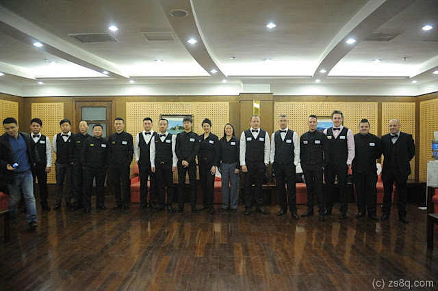 The Players of the 2014 Chinese 8-Ball Masters Invitational