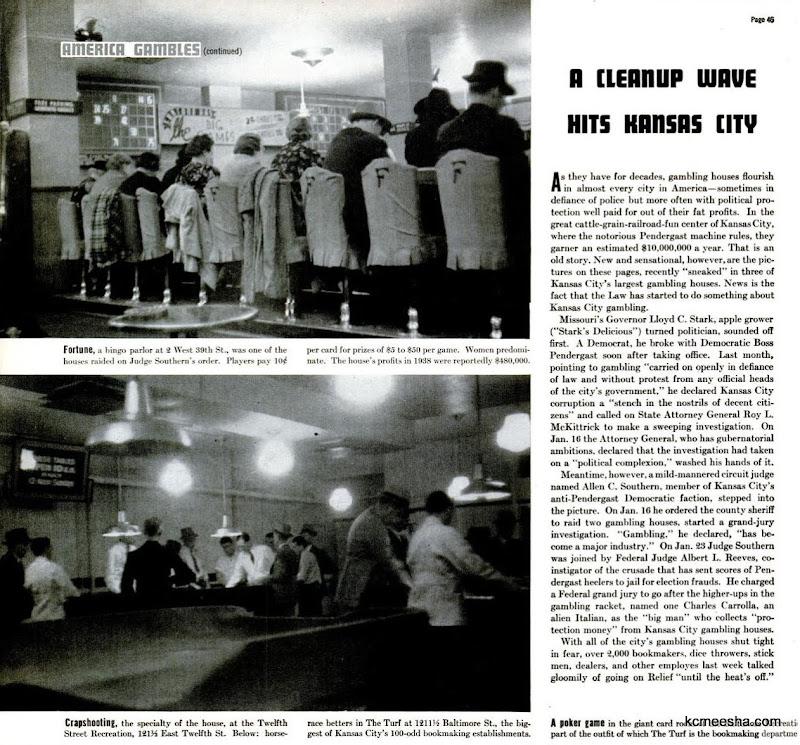 Old Photos: Kansas City Gambling