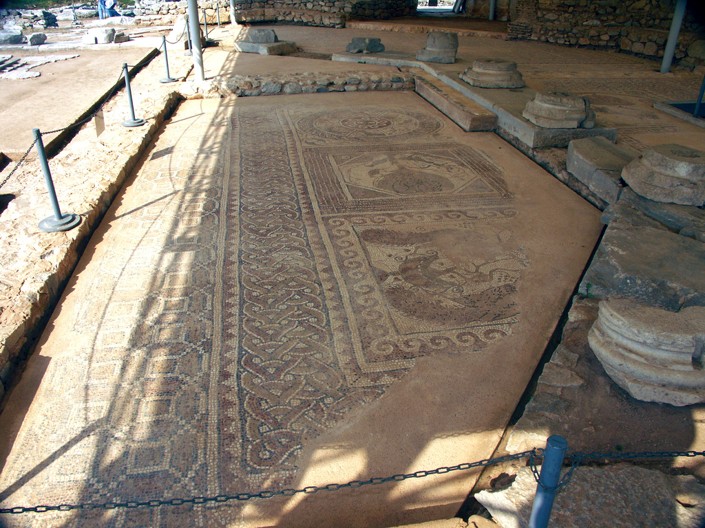 Floor Mosaic, Philippi, Greece