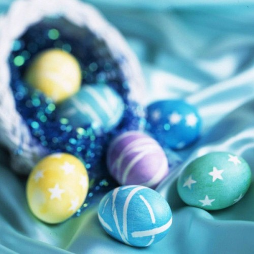 Красивые идеи к Пасхе Creative-ways-to-decorate-easter-eggs-10-500x500