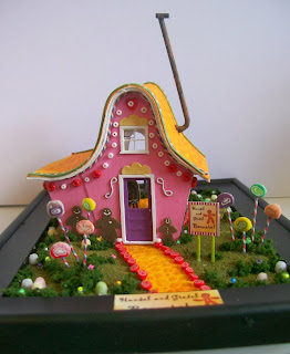 Hansel & Gretel House Kit by Grandt Line. My very first Quarter Scale (1:48) kit.