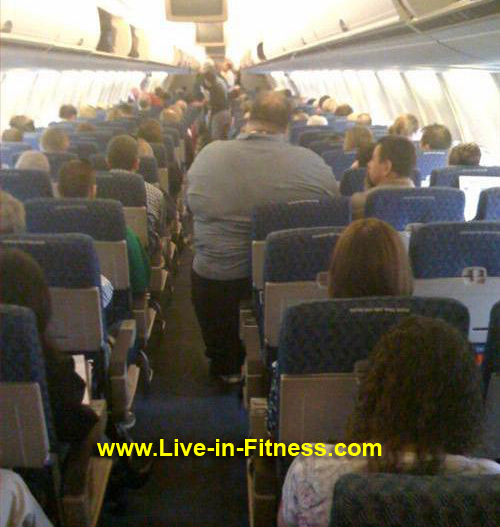 Mens Weight Loss Camp-Need 2 Airline Seats for ONE Man?