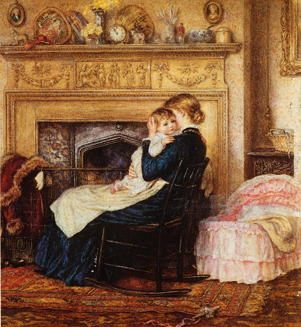 Helen Allingham - In the Nursery