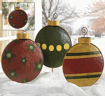 Outdoor Christmas Decorations: Christmas Wreaths Ideas