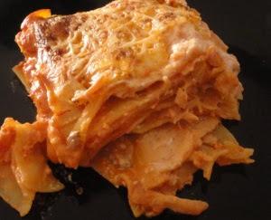 lasagne au saumon fumé