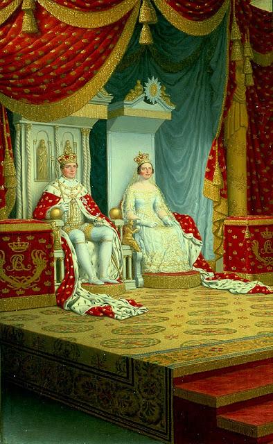 Christoffer Wilhelm Eckersberg - The Anointing of King Christian VIII