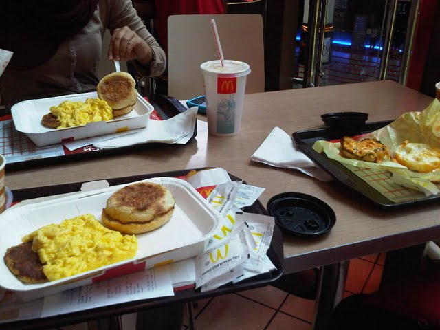 McDonalds Breakfast