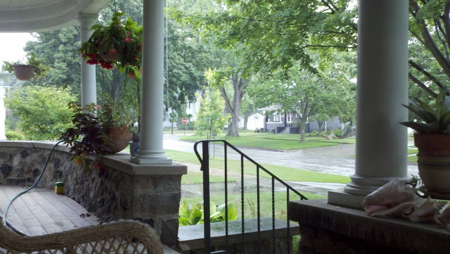 The stone porch of Stone Porch Consulting