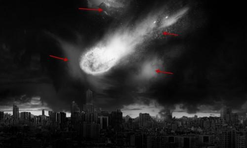 Pontos onde foram criadas nuvens distorcidas