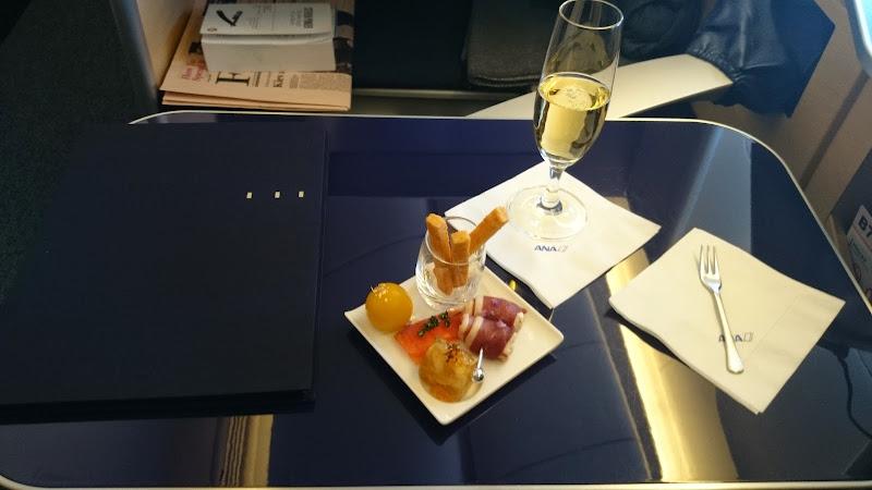 DSC 0910 - REVIEW - ANA : First Class - Tokyo Narita to London (B77W)