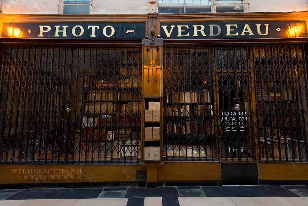 到巴黎攝影 Verdeau通道 Passage Verdeau