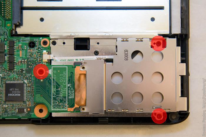 Как разобрать ноутбук Dell Inspiron 1525 37
