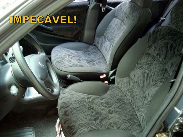 Interior, Fiat Palio 2003 ELX 1.6 16V completo