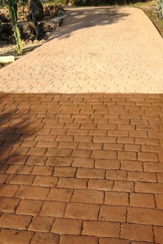 Renovar un suelo de hormig n impreso pavimentos de dise o - Hormigon decorativo para suelos ...