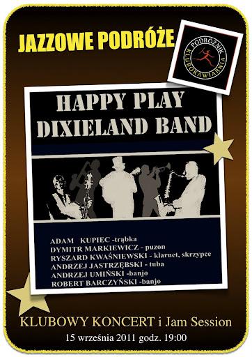 Jazzowe Podróże - Happy Play Dixieland Band / koncert i Jam Session