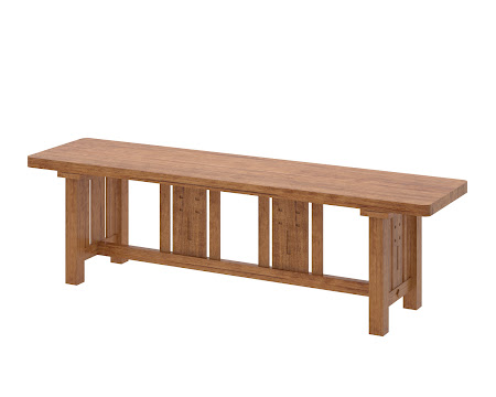 Florence Bench in Como Maple