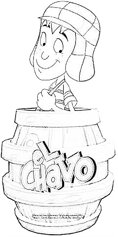 chavo coloring pages - photo#1