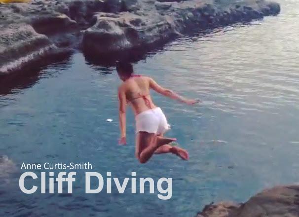 Anne Curtis Cliff Diving Video