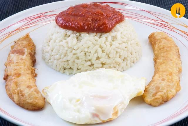 receta arroz cubana