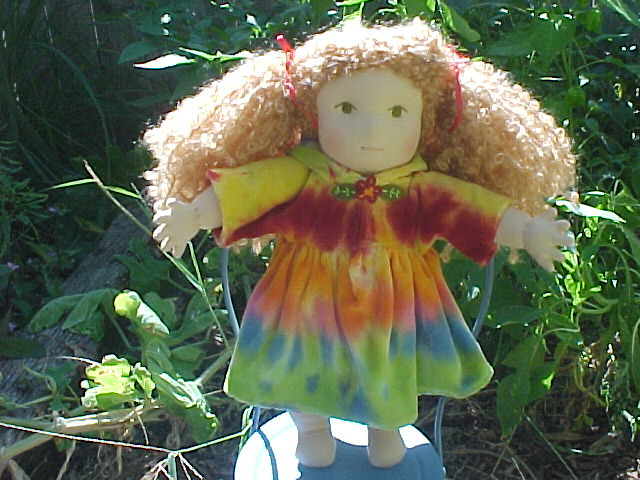 Custom Cotton Velour Doll Outfit - Boy or Girl - Not just for Waldorf Dolls