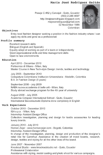 majose rodriguez  cv english
