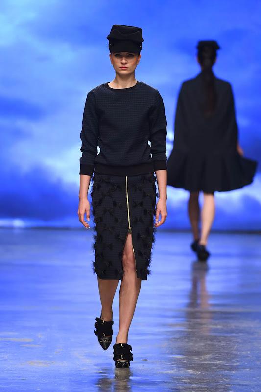 DUBAI, UNITED ARAB EMIRATES - APRIL 10:  A model walks the runway at The Emporer 1668 show during Dubai Fashion Forward April 2015 at Madinat Jumeirah on April 10, 2015 in Dubai, United Arab Emirates.  (Photo by Ian Gavan/Getty Images for Fashion Forward)