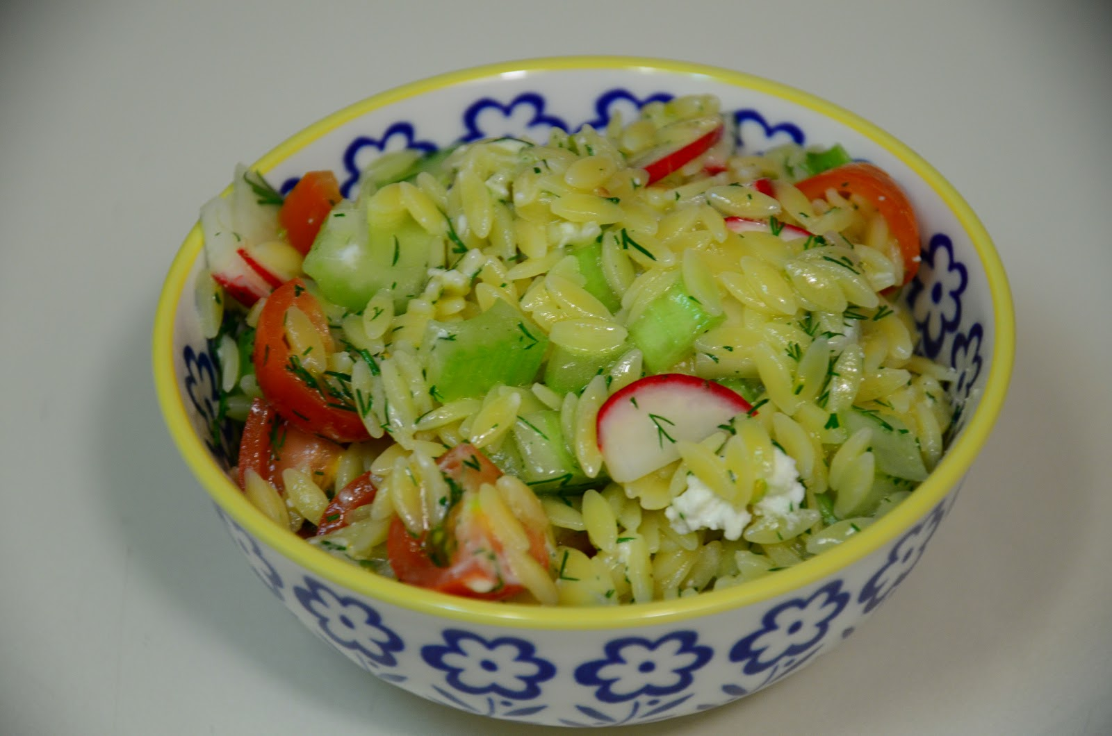 food for scot: Orzo Salad with Celery, Radishes, and Dill