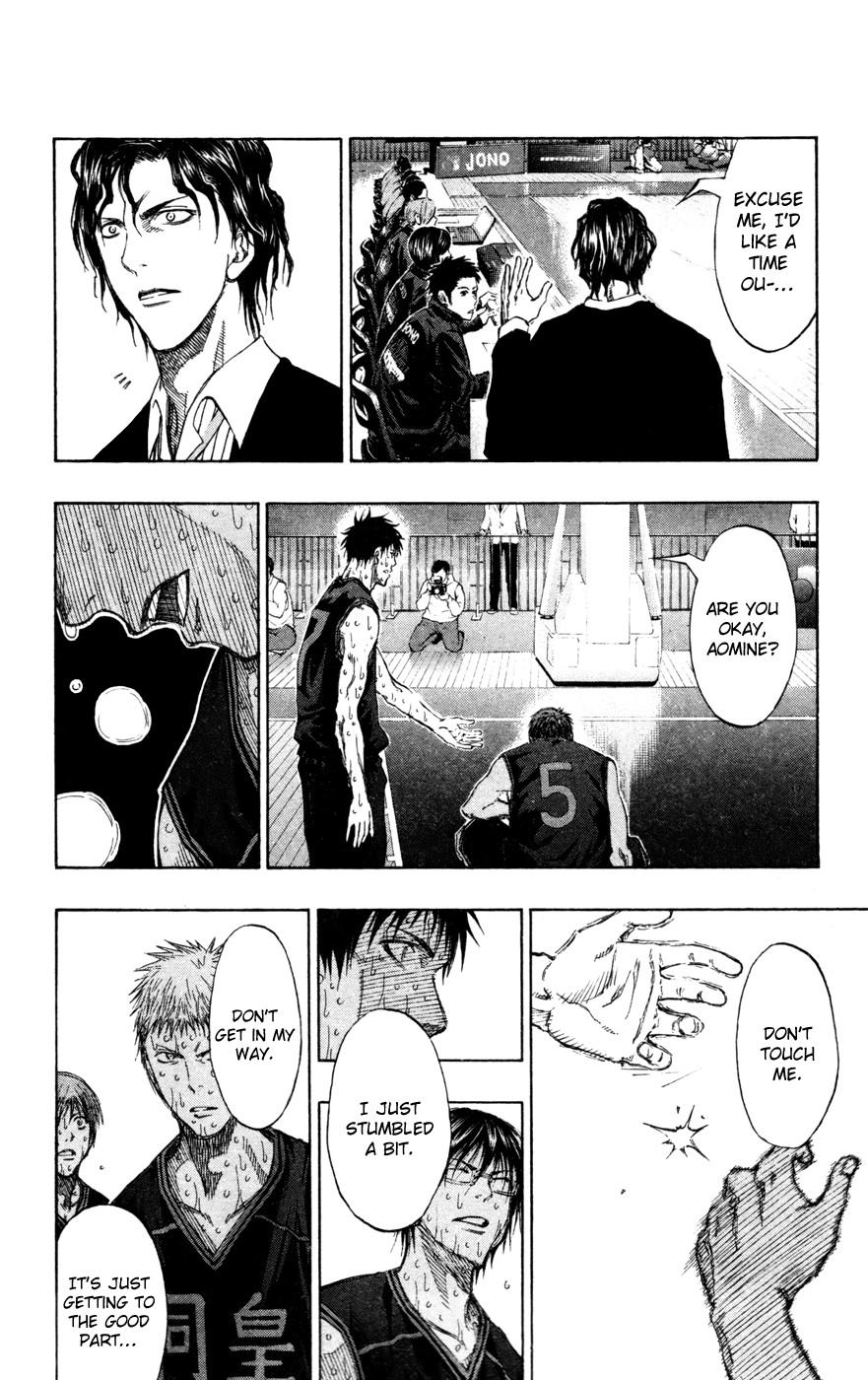 Kuroko no Basket Manga Chapter 137 - Image 02
