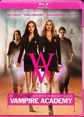 Filme Poster Academia de Vampiros: O Beijo das Sombras BRRip XviD & RMVB Legendado