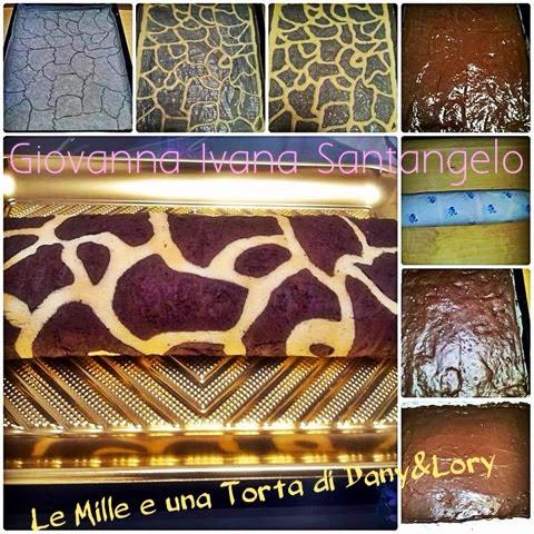 rotolo giraffa con crema alla nutella