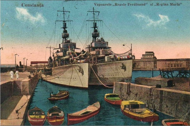 King Ferdinand and Queen Maria battleships