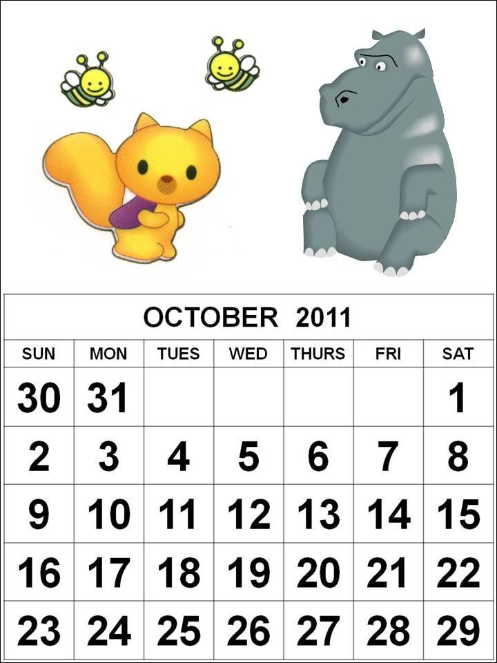 october calendars 2011. dresses october calendar 2011.