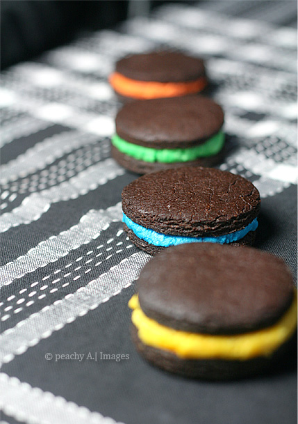 FAUXREOS: Homemade Oreo Cookies